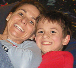 Maryanne and her son Drew