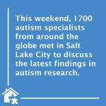 International Society for Autism Research Met This Weekend