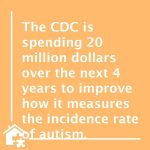 CDC Expands Autism Monitoring Program – BLOG