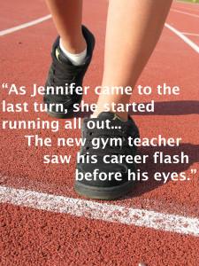 jennifer & new gym teacher 5.28.15
