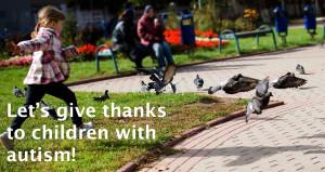 thanks to kiddos with autism 5.13.15