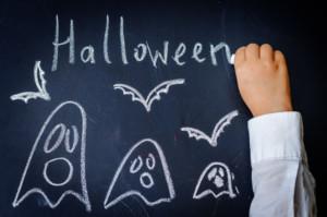 halloween-on-chalkboard